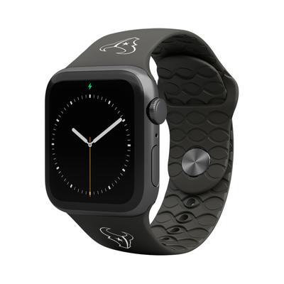 Groove Life Black Houston Texans 42-44mm Apple Watch Band