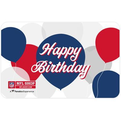 NFL Shop Happy Birthday eGift Card ($10 - $500)