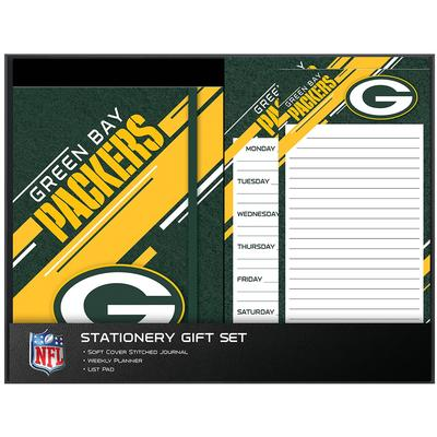 Green Bay Packers Three-Piece Stationery Set