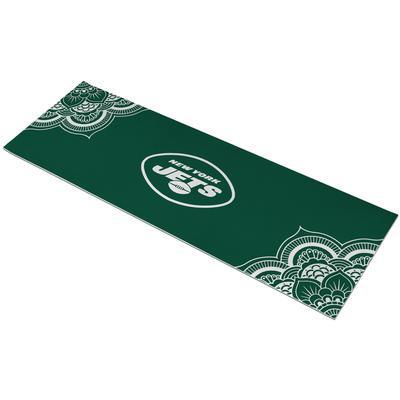 New York Jets 72'' Color Design Yoga Mat