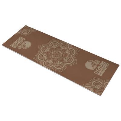 Cleveland Browns Earth Design Yoga Mat
