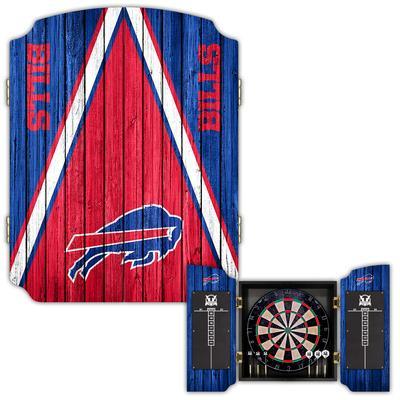 Buffalo Bills Dartboard Cabinet