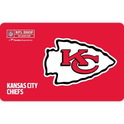 Kansas City Chiefs NFL Shop eGift Card ($10 - $500)