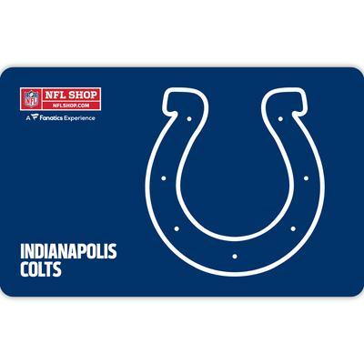 Indianapolis Colts NFL Shop eGift Card ($10 - $500)