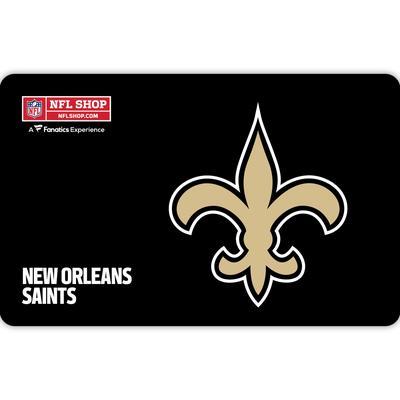 New Orleans Saints NFL Shop eGift Card ($10 - $500)