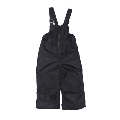 Cat & Jack Snow Pants With Bib - Adjustable: Black Sporting & Activewear - Size 3Toddler