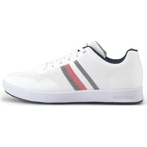 Tommy Hilfiger, Sneaker Sustainable in weiß, Sneaker für Herren Gr. 44