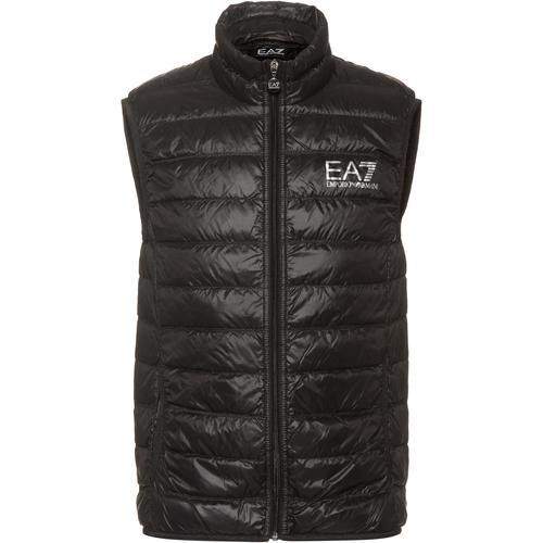 EA7 Emporio Armani Daunenweste Herren in schwarz, Größe XXXL