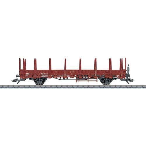 Märklin Güterwagen Rungenwagen DB - 4694, Made in Europe rot Kinder Loks Wägen Modelleisenbahnen Autos, Eisenbahn Modellbau