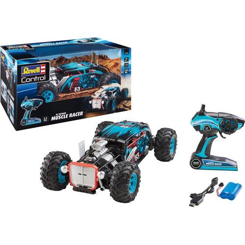 Revell RC-Truck Hot Rod Muscle Racer blau Kinder RC Trucks, Traktoren Bau Autos, Eisenbahn Modellbau