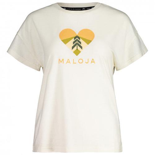 Maloja - Women's KlappertopfM. - T-Shirt Gr XL weiß