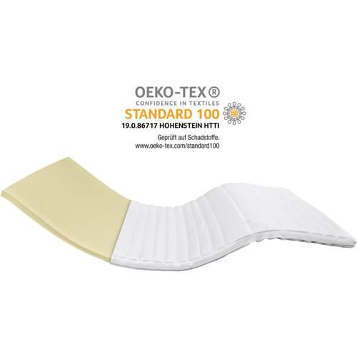Premium Latex-Topper | 100x200 cm | 5,5 cm Höhe | Matratzentopper | 100/200 | Latex Topper