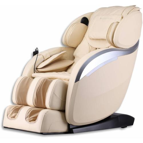 Home Deluxe - Massagesessel Dios V2 (beige) I Massagestuhl, Relaxsessel, Massagetherapie