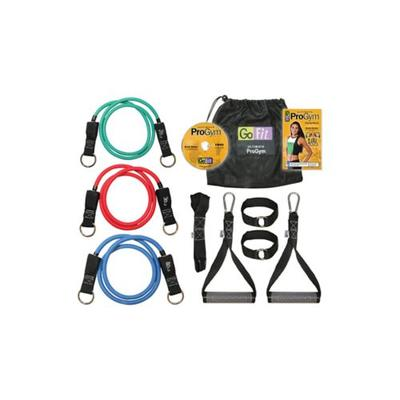 GoFit Green Red Blue ProGym and Training DVD Kit