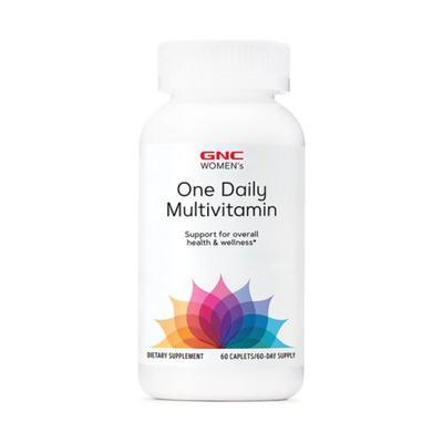 GNC WOMEN'S One Daily Essentials Multivitamin - 39 Nutrients To Support Immune, Bone, Skin, Heart, & Brain Health (60 Tablets)