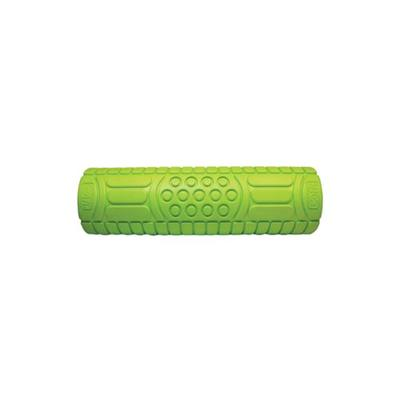GoFit Green 18-Inch Massage Roller with Training Manual