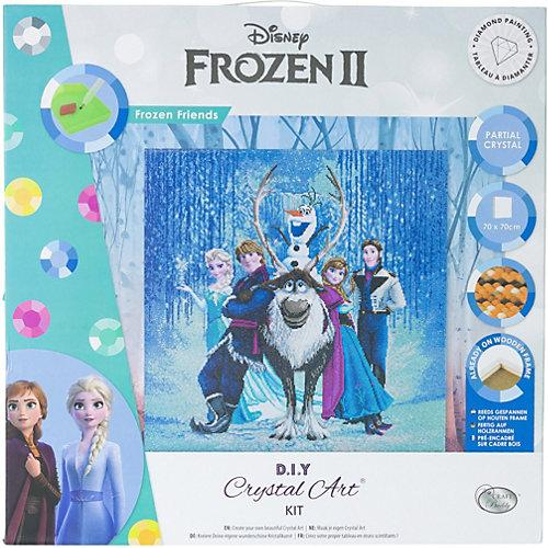 Crystal Art Disney Frozen Friends, 70 x 70 cm Kristallkunst-Kit