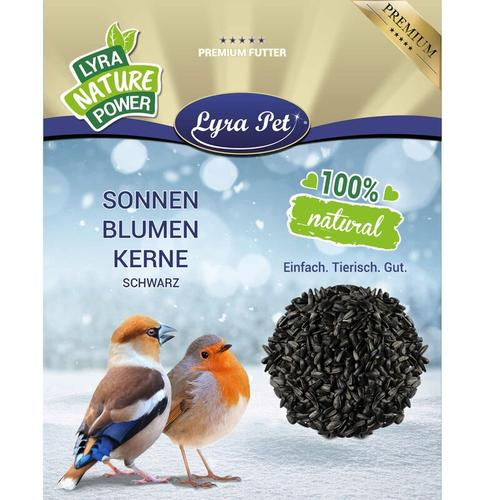 10 kg Lyra Pet® Sonnenblumenkerne schwarz HK Bulgarien