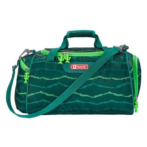 Step by Sporttasche, Schultertasche grün Kinder Sporttaschen Sport- Freizeittaschen Sporttasche