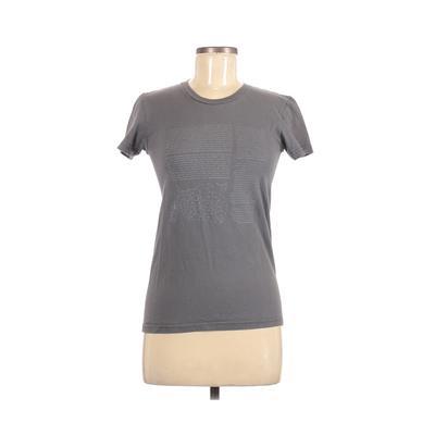 American Apparel - American Apparel Short Sleeve T-Shirt: Gray Tops - Size Medium