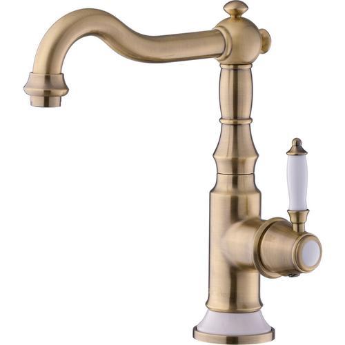 Nostalgie Wasserhahn Messing Waschtischarmatur Küchenarmatur