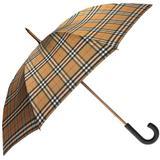 Vintage Check Walking Umbrella -...