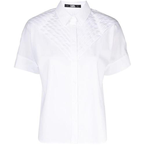 Karl Lagerfeld Hemd mit Falten
