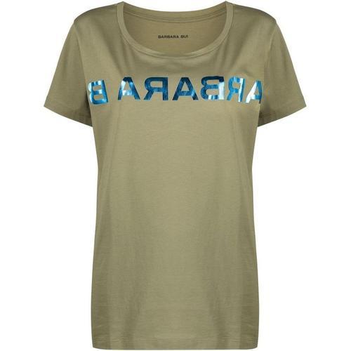 Barbara Bui T-Shirt mit gespiegeltem Logo