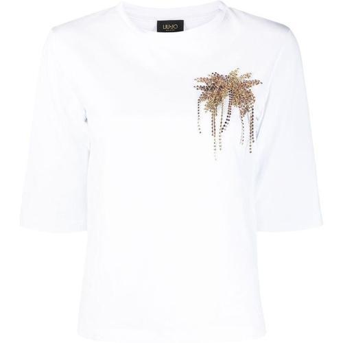 Liu Jo Verziertes T-Shirt