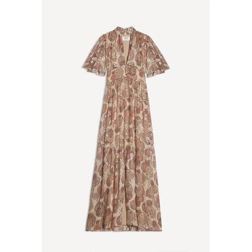 Ba&sh Kleid in Vieuxrose verstecken