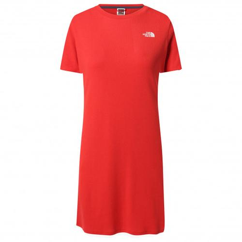 The North Face - Women's Simple Dome Tee Dress - Kleid Gr L rot