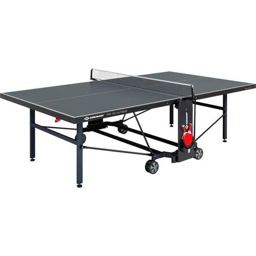 SCHILDKRÖT Tischtennistisch ProTec Outdoor, Größe - in Grau