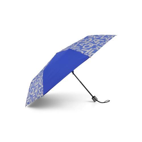 TOM TAILOR Unisex Extra Kleiner Regenschirm, blau, Gr.OneSize