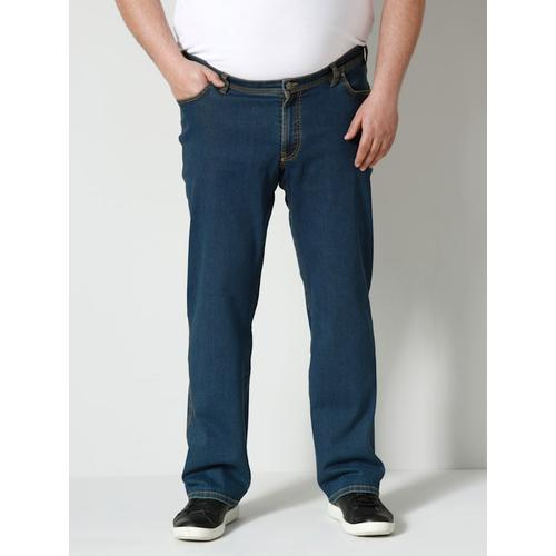 High Strech Jeans Men Plus Black stone