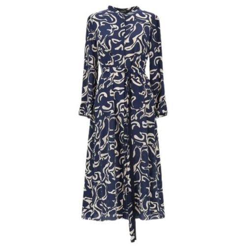 Max Mara Marengo Silk Dress