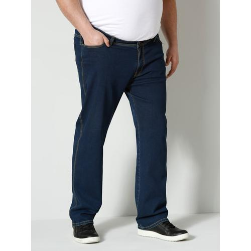 High Strech Jeans Men Plus Dark blue