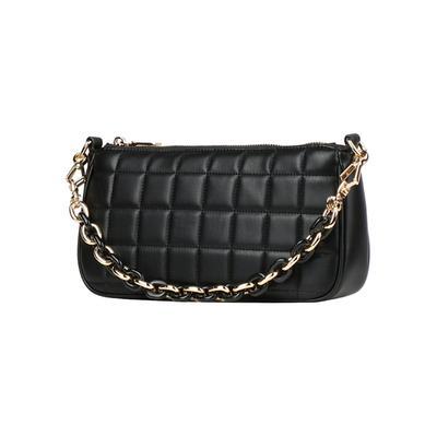 Sigtuna Mini Bag Handtasche 17 cm Seidenfelt black