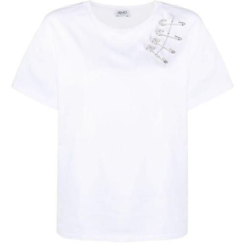 Liu Jo T-Shirt mit Sicherheitsnadel