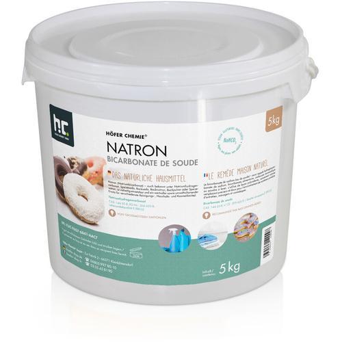 1 x 5 kg Natron Natriumhydrogencarbonat in Lebensmittelqualität