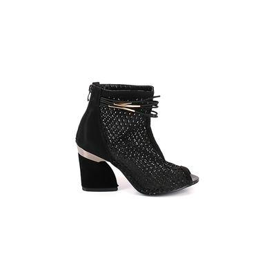 Assorted Brands Ankle Boots: Bla...