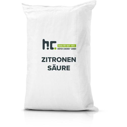 2 x 25 kg Zitronensäure Granulat