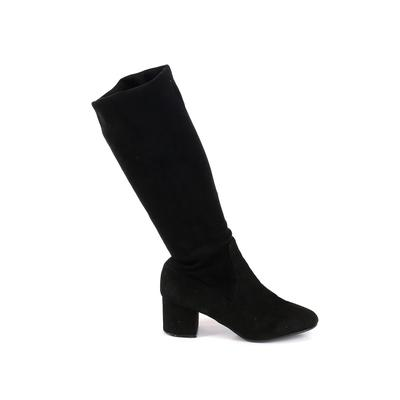 Steve Madden Boots: Black Solid Shoes - Size 11