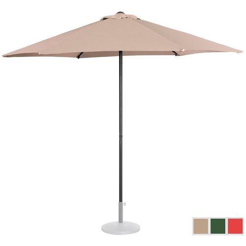 Sonnenschirm groß Sonnenschirm Terrasse Gartenschirm creme sechseckig ? 270 cm