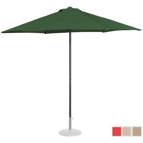 Sonnenschirm groß Sonnenschirm Terrasse Gartenschirm grün sechseckig Ř 270 cm