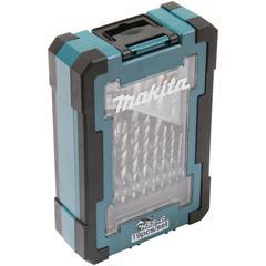 Makita Bohrersatz D-67549, HSS-G 19-tlg. blau Profi-Werkzeug Werkzeug Maschinen