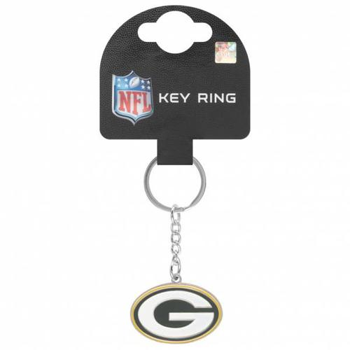 Green Bay Packers NFL Wappen Schlüsselanhänger KYRNFCRSGP