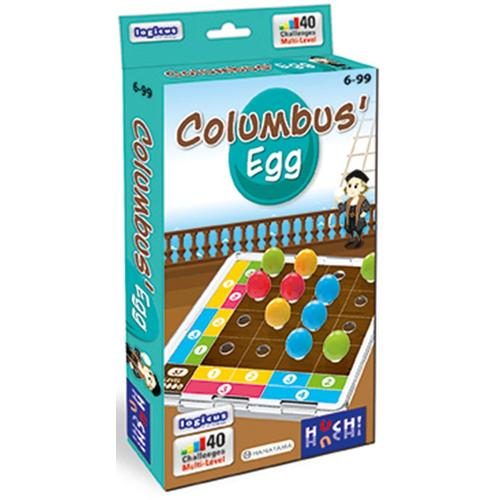 Huch Spiel Columbus Egg bunt Kinder Denkspiele Gesellschaftsspiele