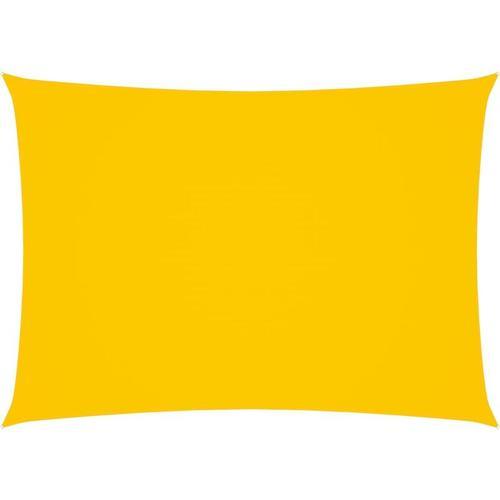 Sonnensegel Oxford-Gewebe Rechteckig 5x7 m Gelb