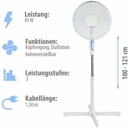 ® Standventilator mit Oszillationsfunktion - Grafner