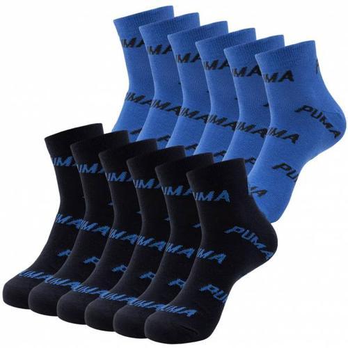 PUMA Unisex Quarter-Socken 12 Paar 201032001-523